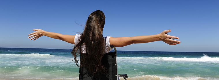 Voyageuse à mobilité réduite, Brésil