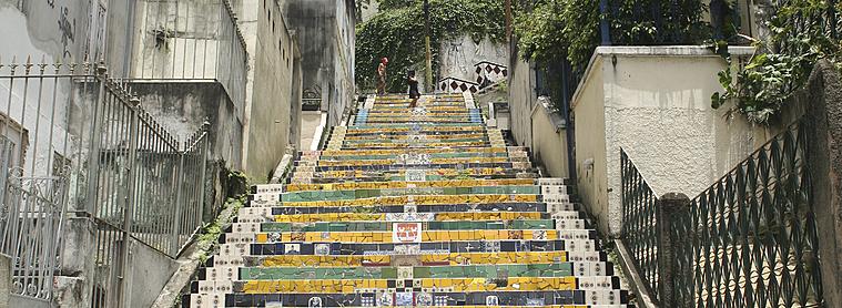 Escaliers, Brésil