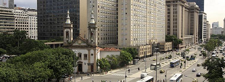Transports en commun, Centre ville de Rio de Janeiro, Brésil