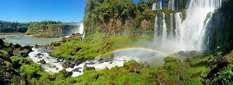 Des chutes d'eau spectaculaire !