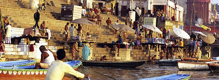 Le Gange, fleuve d'Inde sacré
