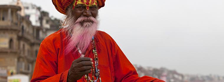 sâdhus, Inde
