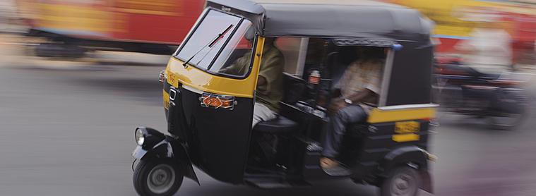 rickshaw, moyen de transport