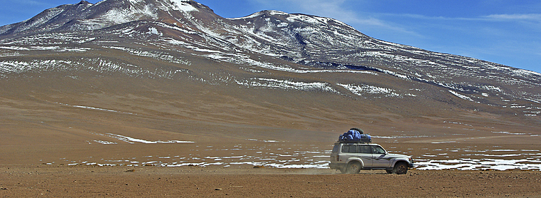 Excursion en 4x4 en Bolivie