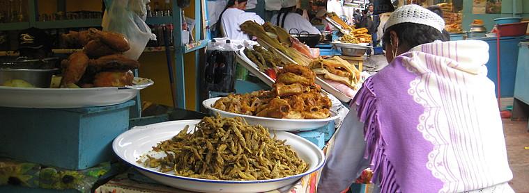 Le marché en Bolivie