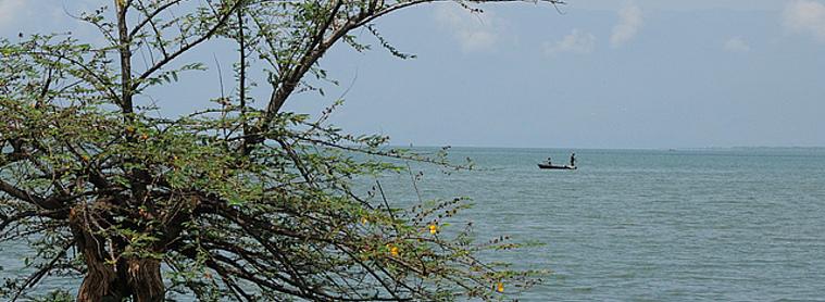Sur les rives du lac de Tanganyiaka