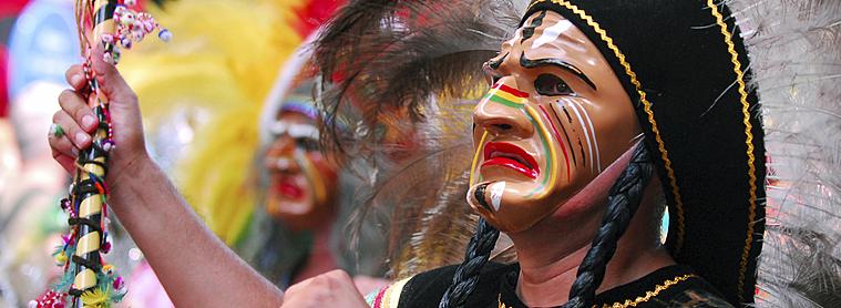 Déguisements lors du Carnaval