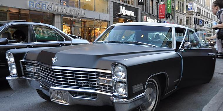 Cadillac avec chauffeur