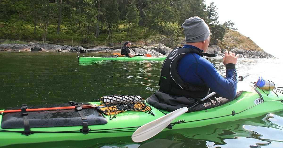 Voyage sur l'eau Suède : L\'archipel de Stockholm en kayak