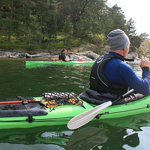 L'archipel de Stockholm en kayak - Fjärdlång -