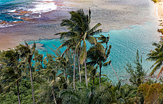 Les quatre îles de l\'archipel d\'Hawaii