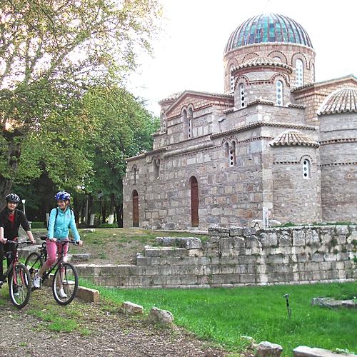 Randonnée archéologique et culturelle à vélo - Athènes -