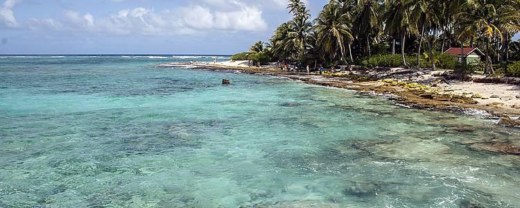 Tour della costa caraibica