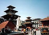 Vol pour Katmandou