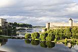 Narva, ville frontalière