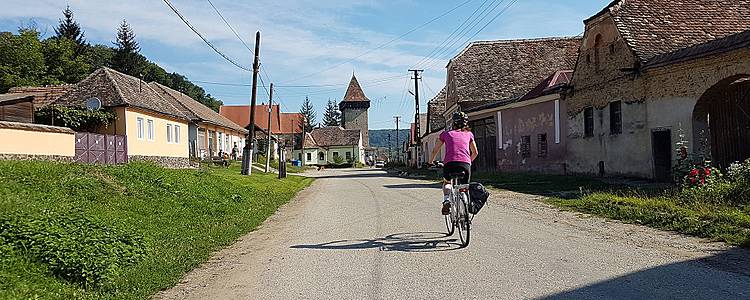 Découverte de la Transylvanie à vélo