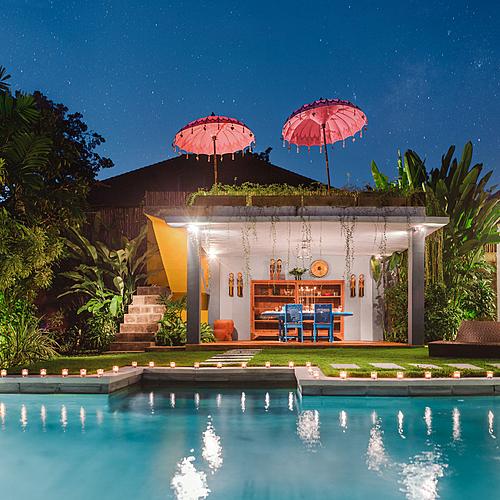 Bali et les Gili entre amis! Mes deux Villas -