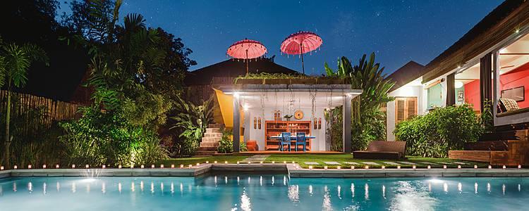 Bali et les Gili entre amis! Mes deux Villas