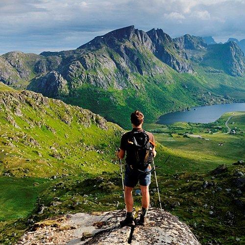 Découverte à pied des îles Lofoten -