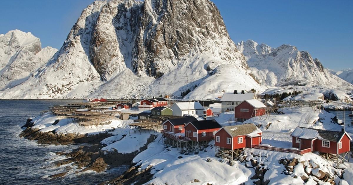 Voyage à la neige : Séjour en raquettes aux îles Lofoten