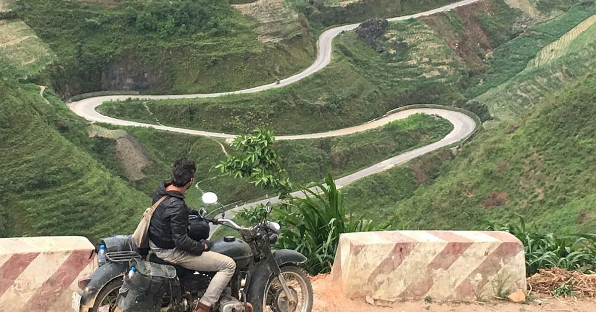 Voyage en véhicule : Voyage en moto dans les montagnes du Nord-Vietnam-En petit groupe