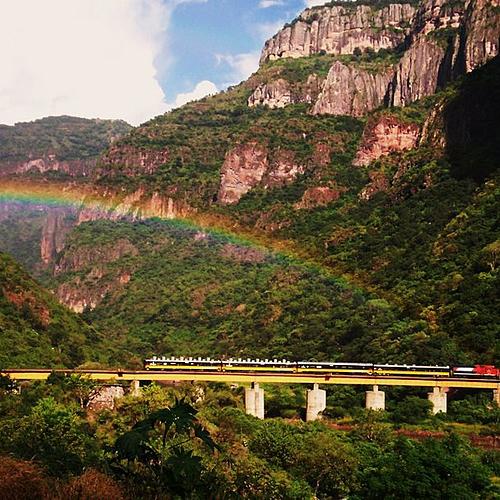 La route du cuivre en train - Mexico -