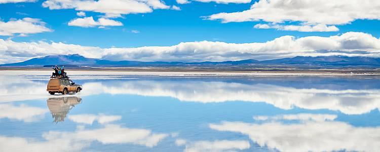 Il Salar de Uyuni e la Cordigliera Reale