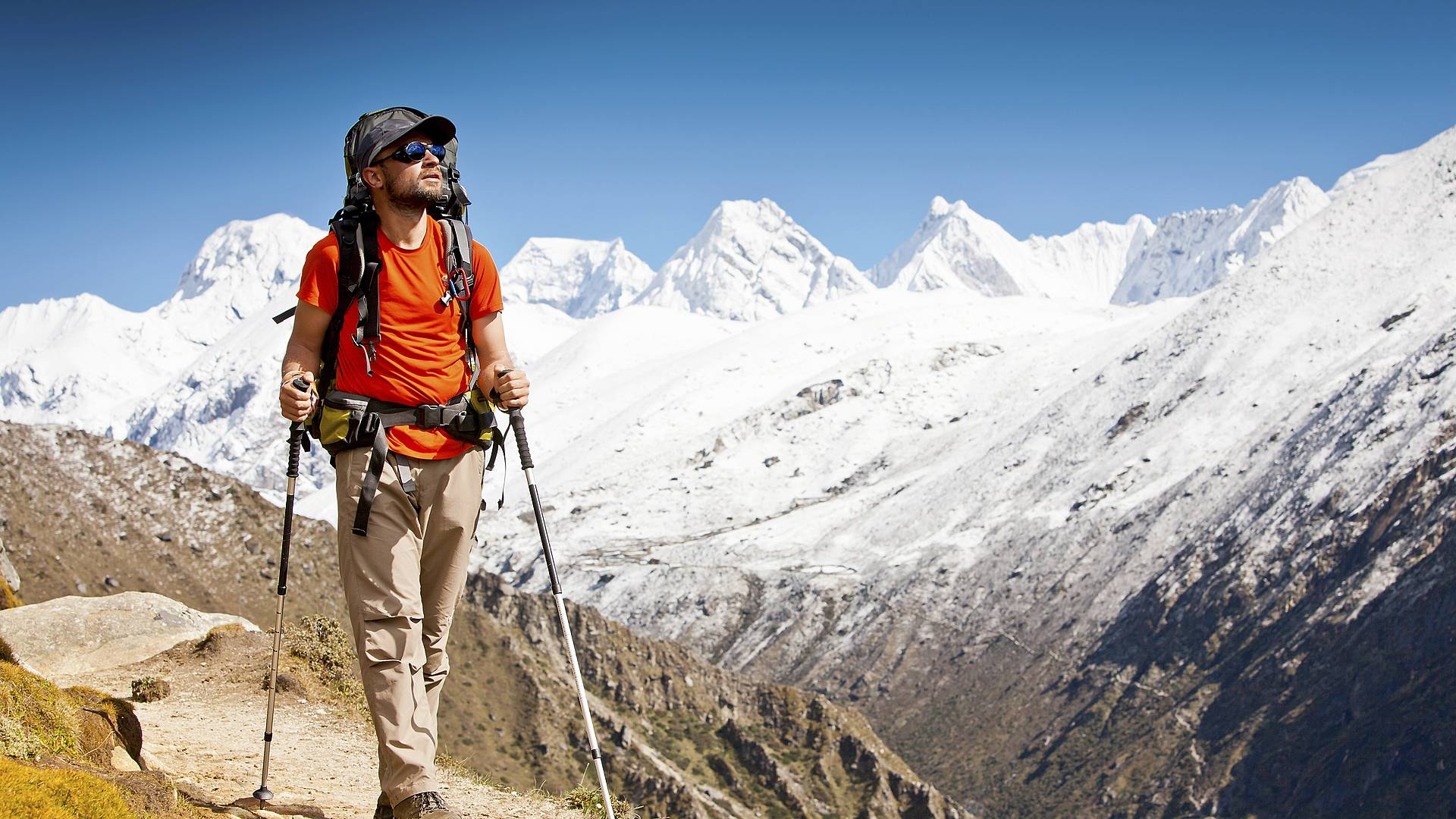 Über den Wolken des Himalaya