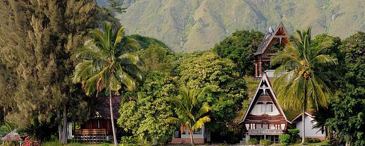 Etnias en Sumatra con la paradisíaca Isla Cubadak