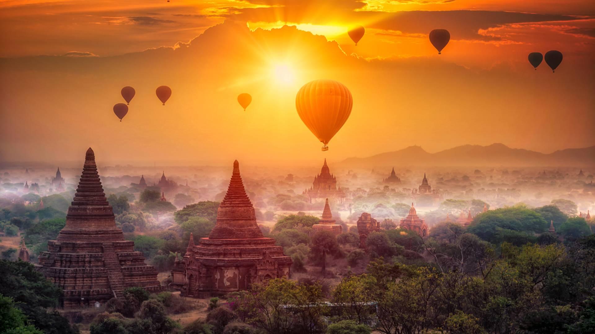 Familienzeit zwischen Yangon und Popa
