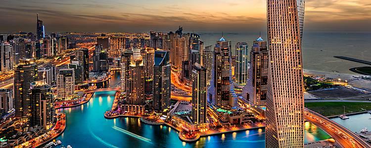 Combinado Dubái y Maldivas