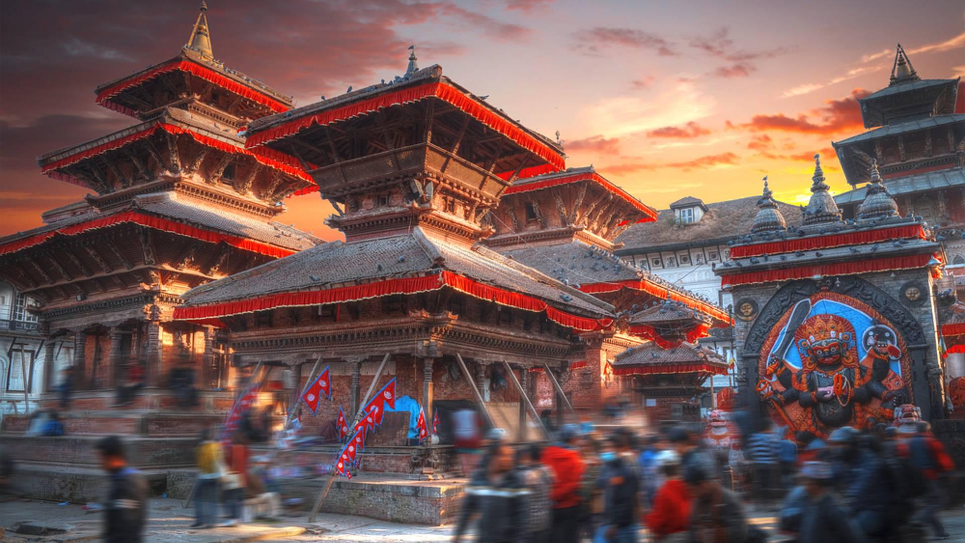 Entre las joyas arquitectónicas del Valle de Katmandú