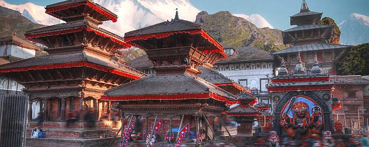 Umwelt und Brauchtum von Kathmandu bis Pokhara