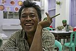 La vie de famille birmane