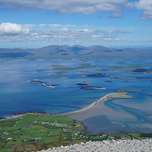 Autotour et randonnée facile au Connemara - Clifden -
