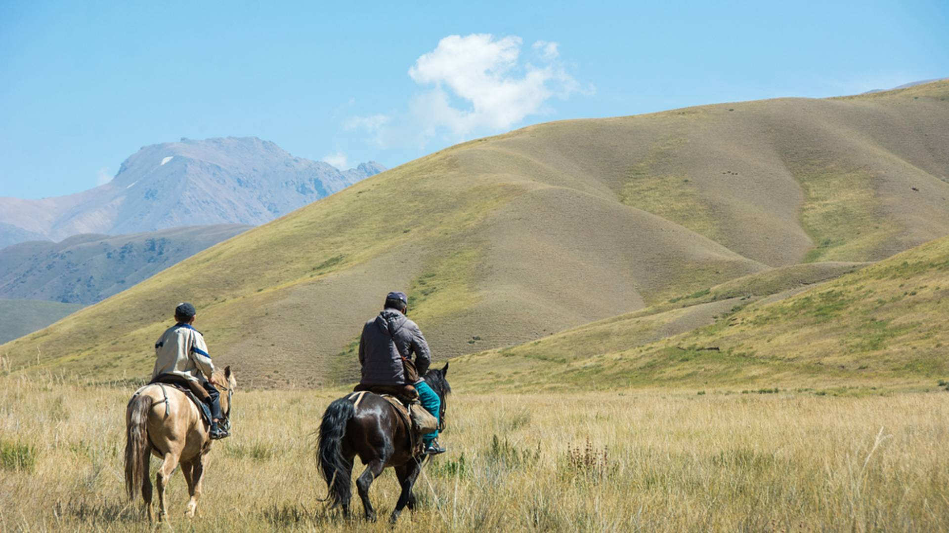 Mit Pferden unterwegs auf der Seidenstraße