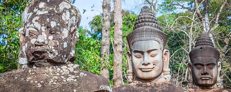 Gesichter der Schöpfung - Selbstfindung zwischen Laos und Kambodscha