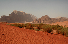 Randonnée du Mont Nébo au Wadi Rum en groupe