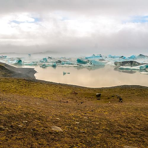 Entre glaciers et volcans, en guesthouse -