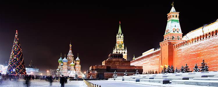 Capodanno a Mosca e San Pietroburgo