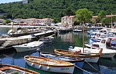Bain de mer en famille à Opatija