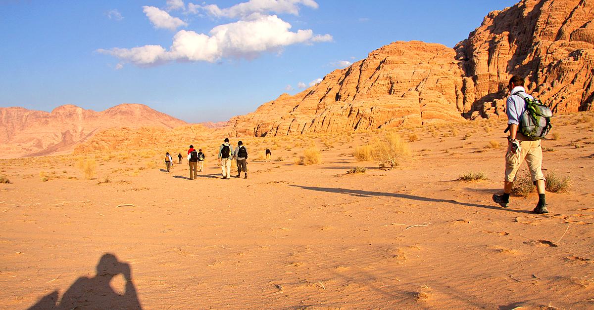 Voyage à pied Jordanie : Randonnées entre Dana, Petra et le Wadi Rum