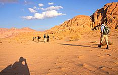 Randonnées entre Dana, Petra et le Wadi Rum