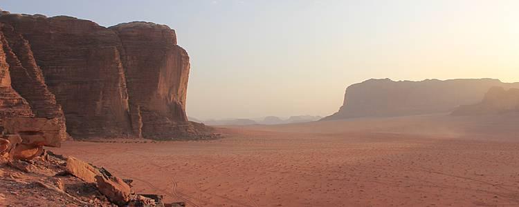 Le désert magique du Wadi Rum et Petra