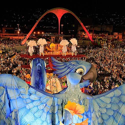 Carnaval à Rio - Iguaçu - Paraty -