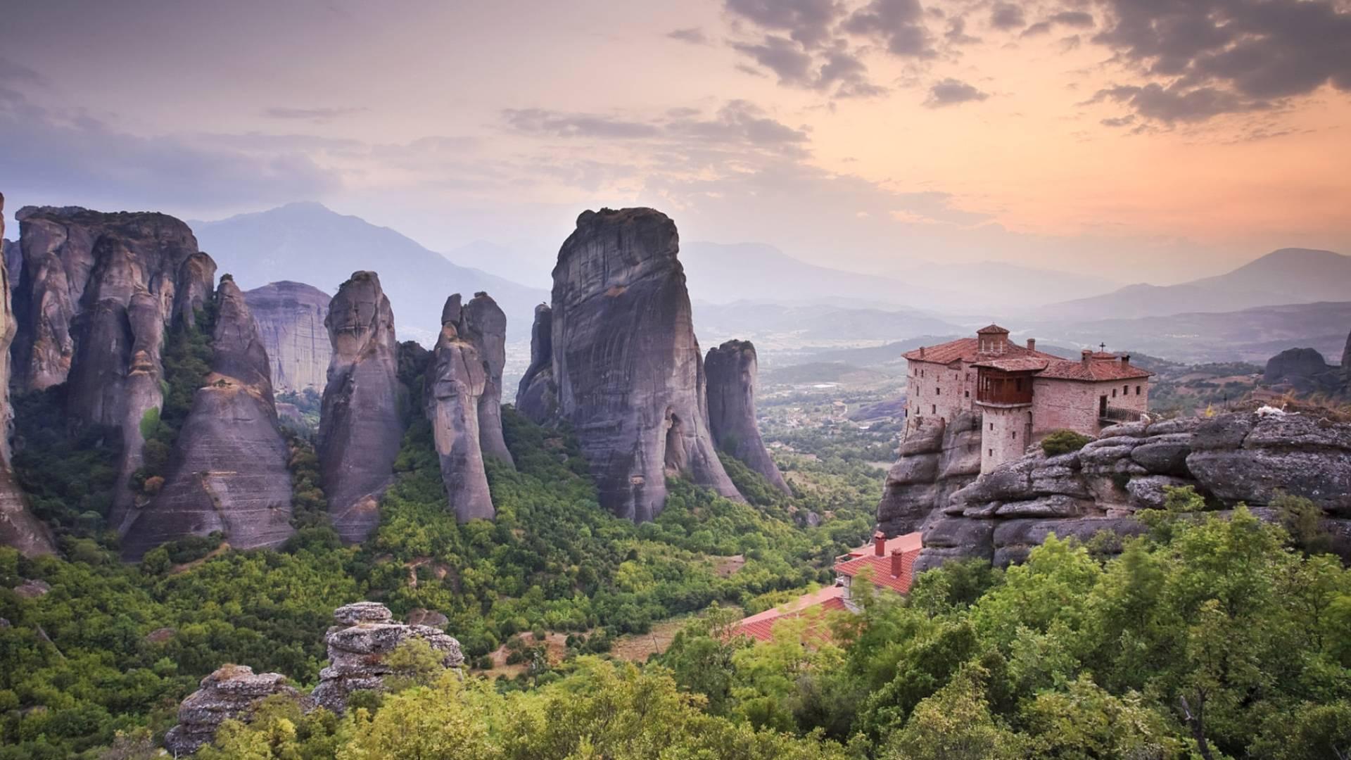 Atene, Delfi, Olimpia e Meteora