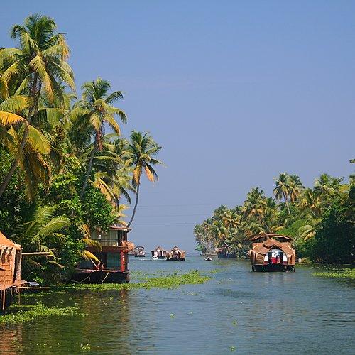 Circuit luxe et volupté au Kerala -