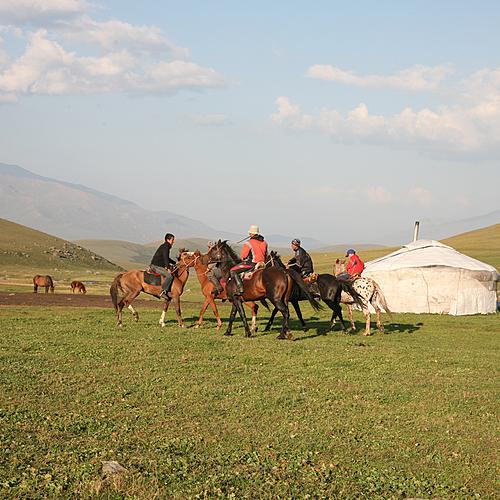 Chevauchée au pays des Nomades - Bichkek -